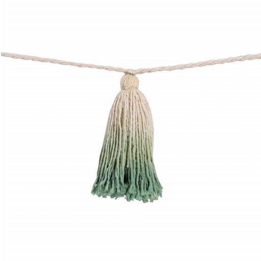 "Guirnalda Pompones ""Lorena Canals"" mod. Tie-Dye Verde [1]"