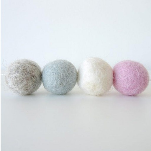Guirnalda mix colores: rosa / beige/ azulito / gris [3]