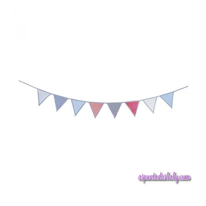 Guirnalda infantil decorativa Azul