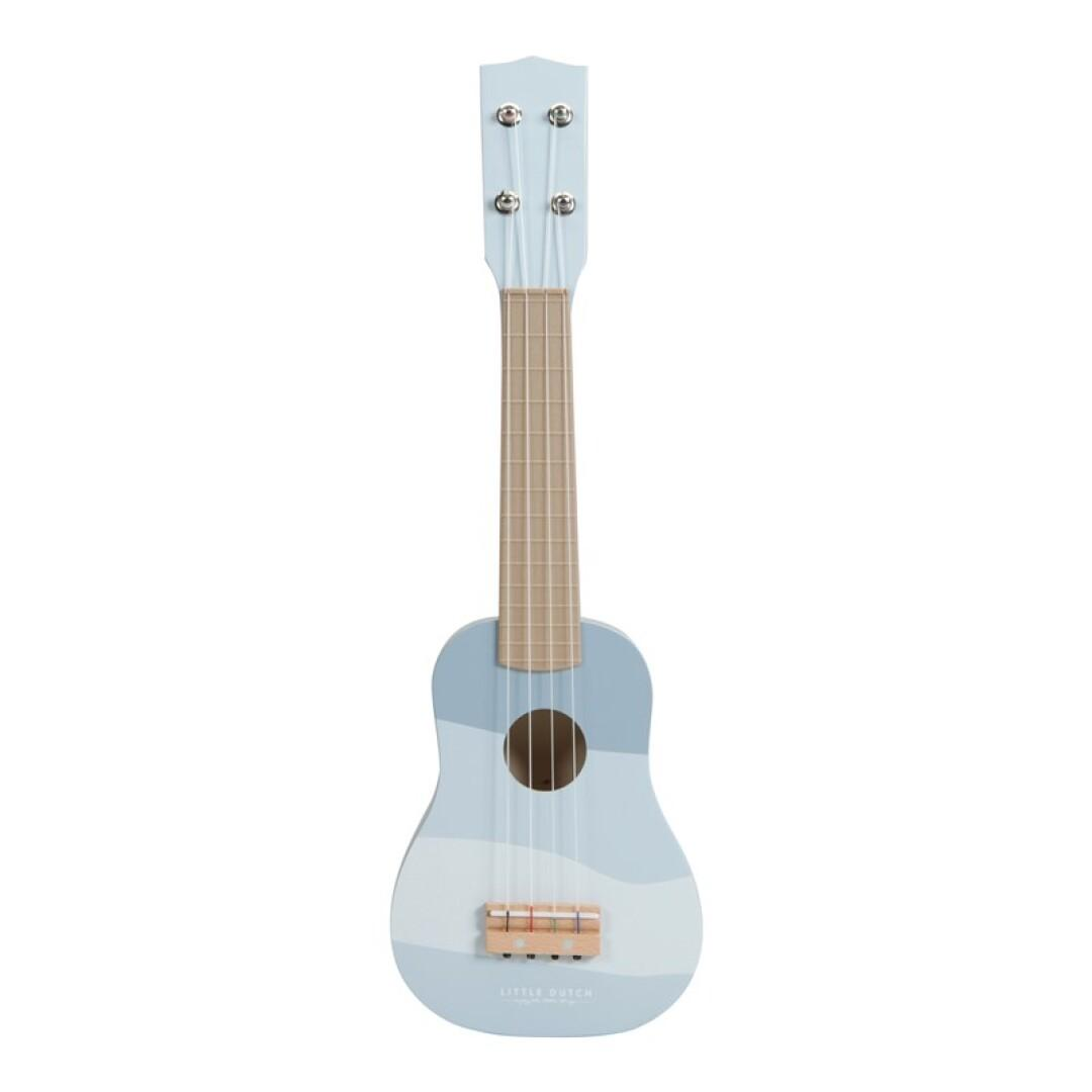 Guitarra azul Little Dutch