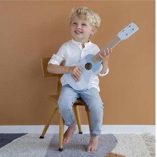 Guitarra azul Little Dutch  [1]