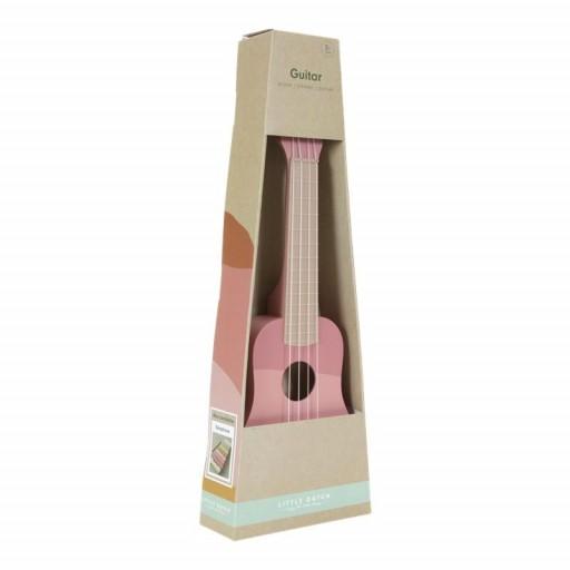 Guitarra rosa Little Dutch  [2]