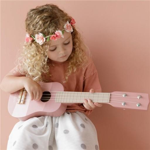 Guitarra rosa Little Dutch  [1]