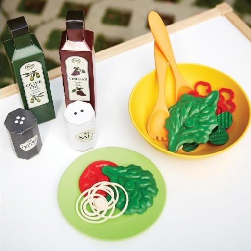 Haz tu propia ensalada, utensilios de cocina [2]