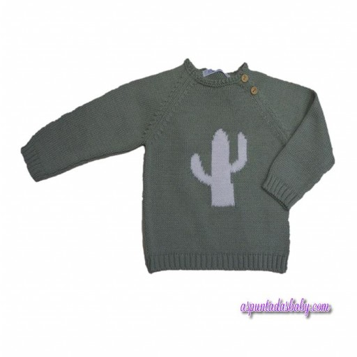 Jersey Ancar Cactus Color Verde Hoja