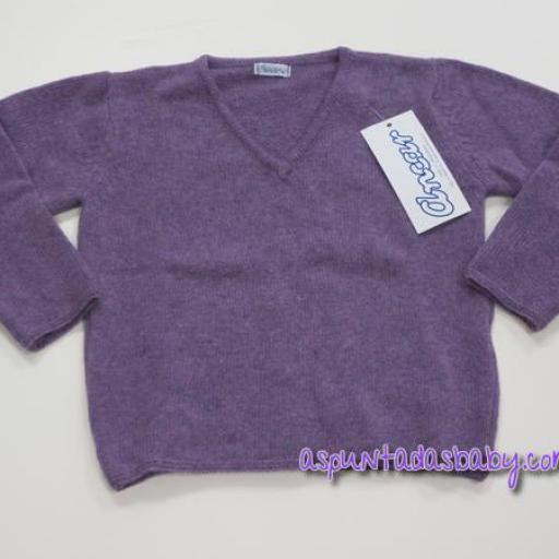 Jersey de pico Ancar otoño-invierno color lila.  [0]