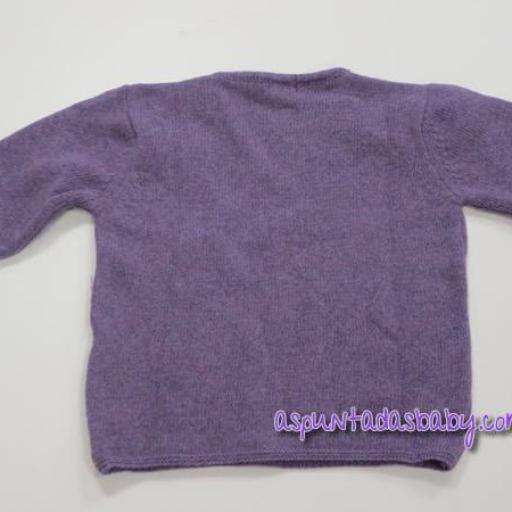 Jersey de pico Ancar otoño-invierno color lila.  [1]