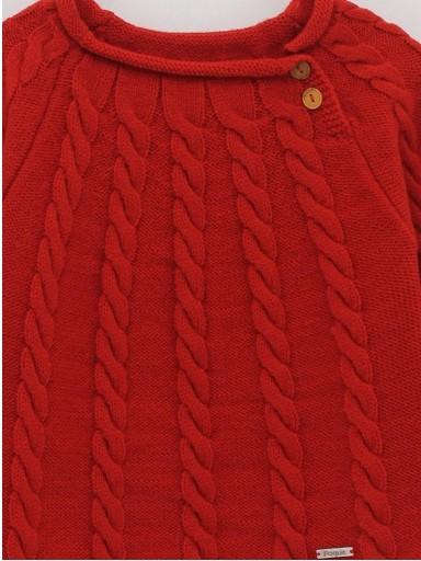 Jersey básico ochos Foque Colección Christmas color rojo. [2]