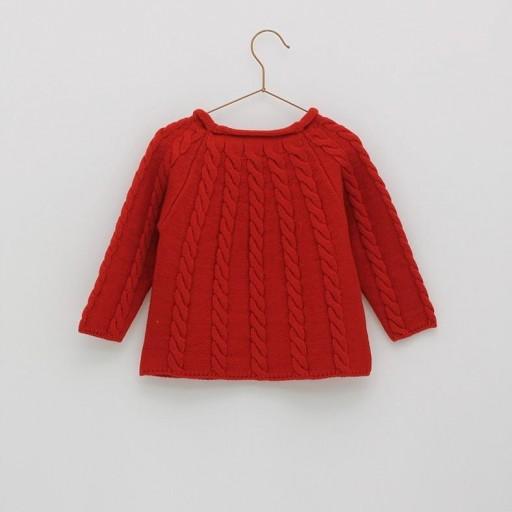 Jersey básico ochos Foque Colección Christmas color rojo. [1]