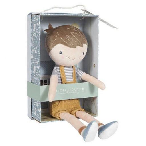 Muñeco Jim pequeño de Little Dutch - 10 cms
