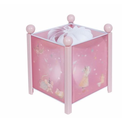 Lámpara mágica rosa Érase una vez por Moulin Roty