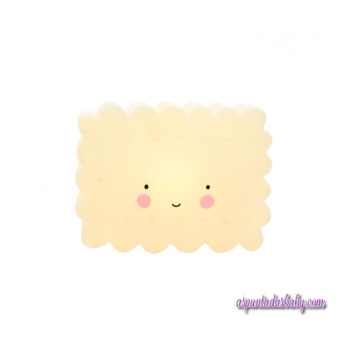 Mini Lámpara Cookie Amarilla- 12 cms.
