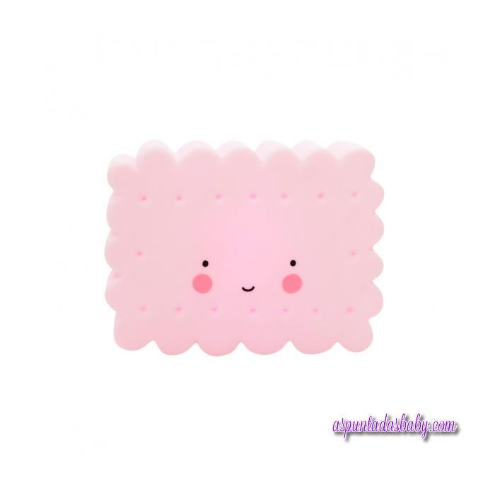 Mini Lámpara Cookie Rosa - 12 cms.