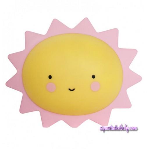 Mini Lampara Sol - 15 cms.