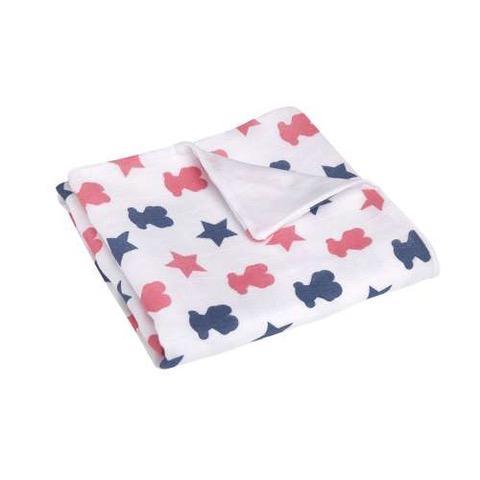 Capa de baño Baby Tous mod. Muse Star color marino