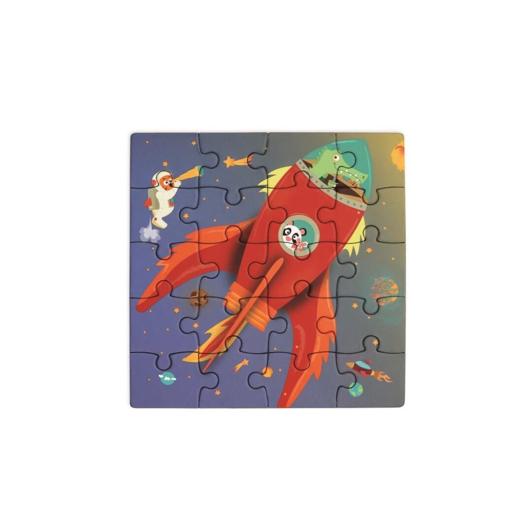 Puzzle book to go - Espacio