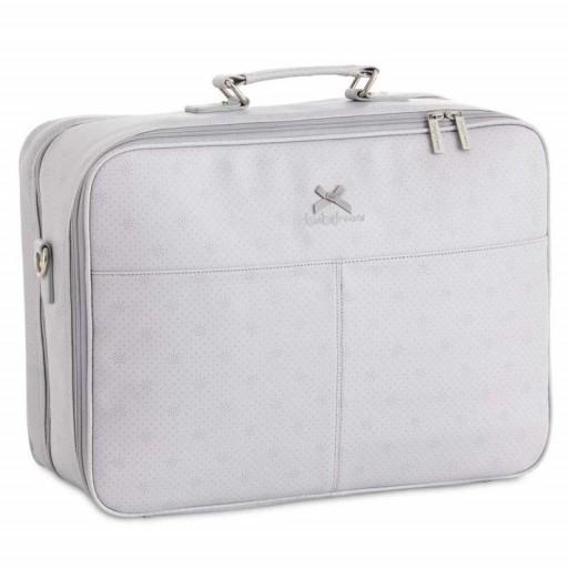 Bimbi dreams maleta con cambiador ecopiel dots