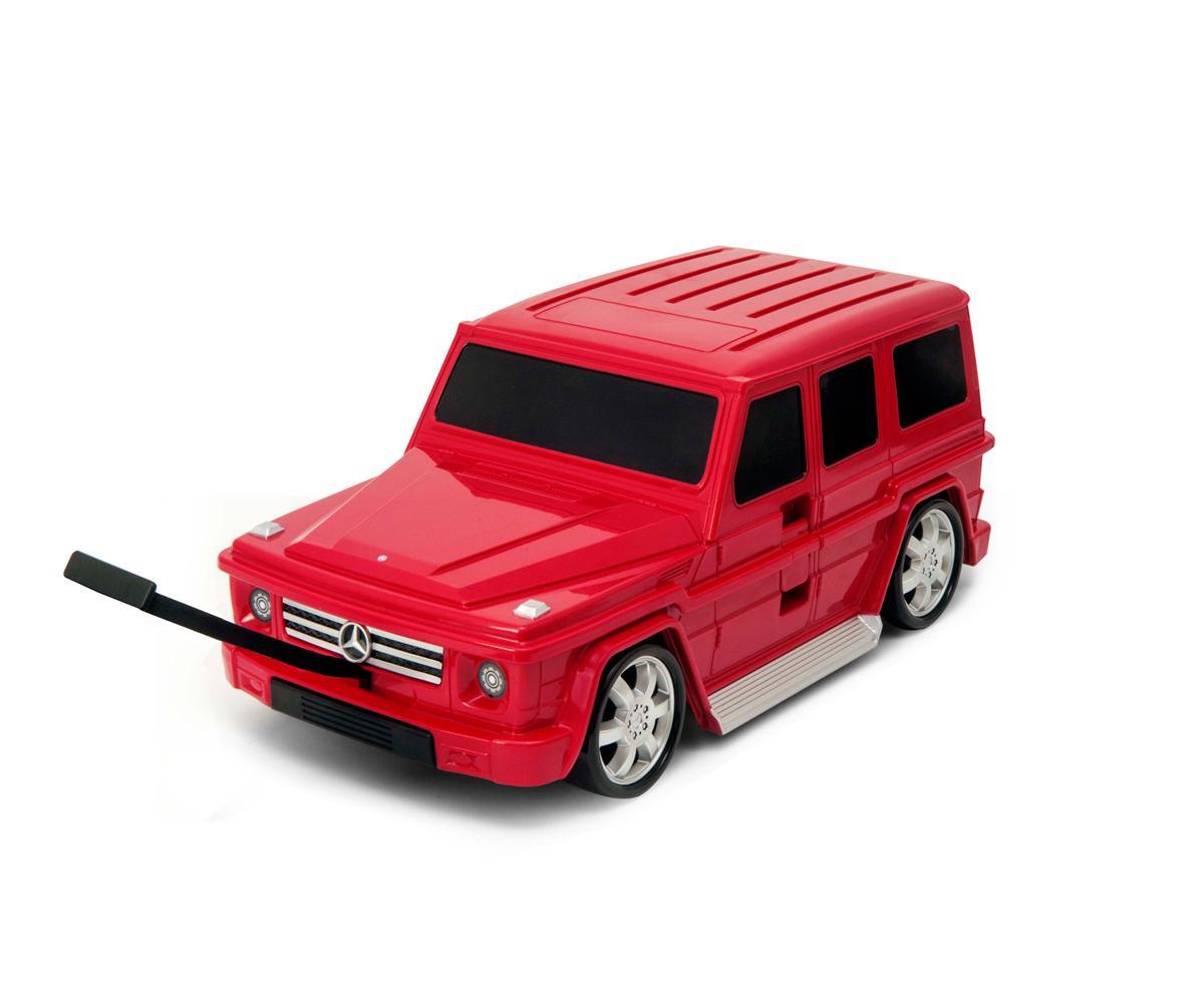 Maleta Trolley Mercedes Clase G Roja
