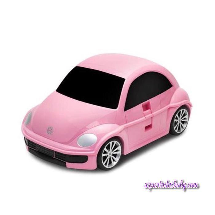 Maleta Trolley Beetle rosa