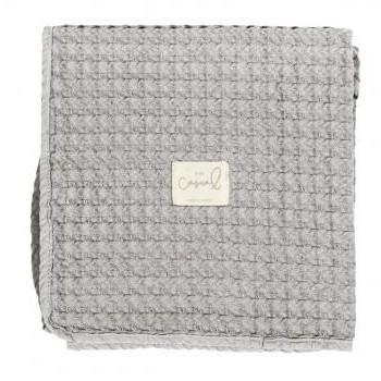 Manta Crochet Bimbidreams color gris
