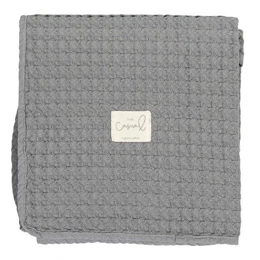 Manta Crochet Bimbidreams color marengo.  [0]