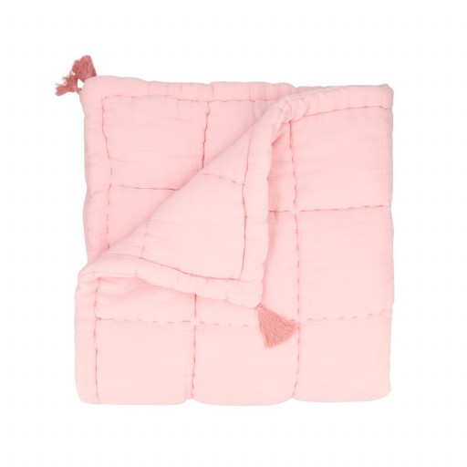 Manta de Juegos Murat rosa claro.