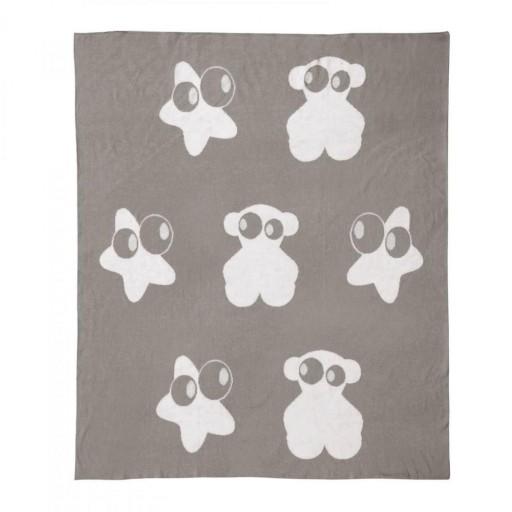 Manta reversible Baby Tous mod. Nilo color gris . [1]