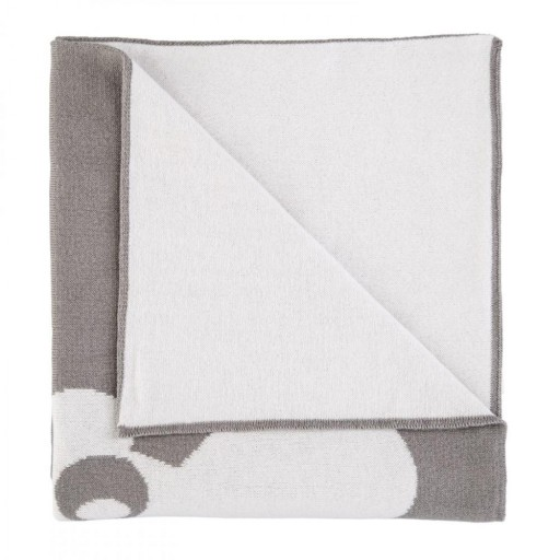 Manta reversible Baby Tous mod. Nilo color gris . [2]