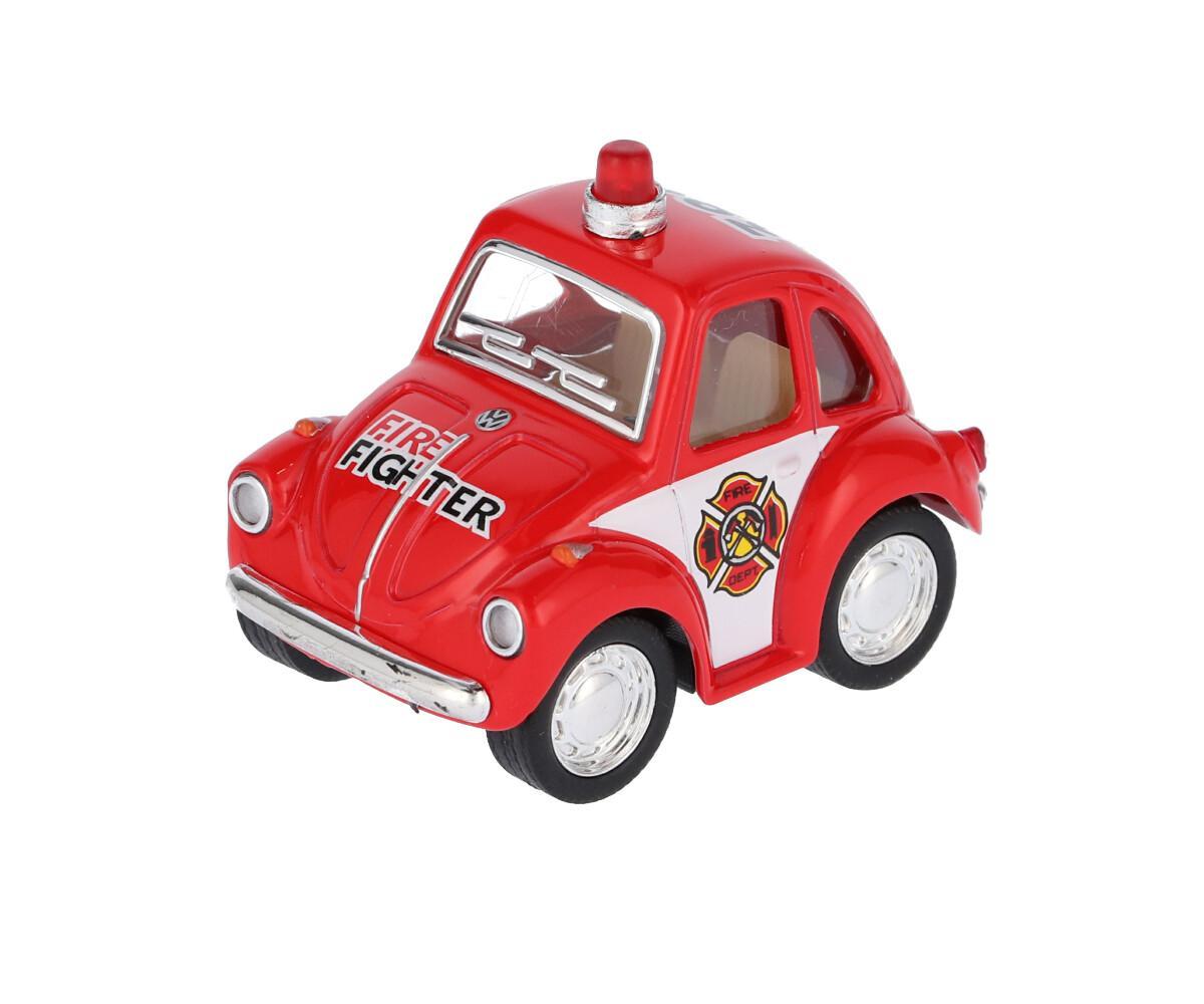 Mini Coche Bomberos Rojo