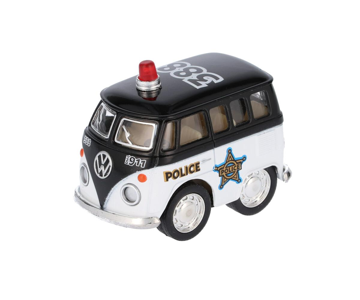Mini Furgoneta Policía Negro