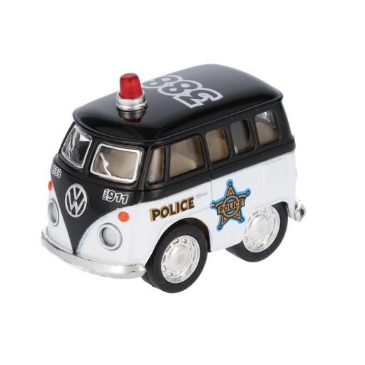 Mini Furgoneta Policía Negro [0]