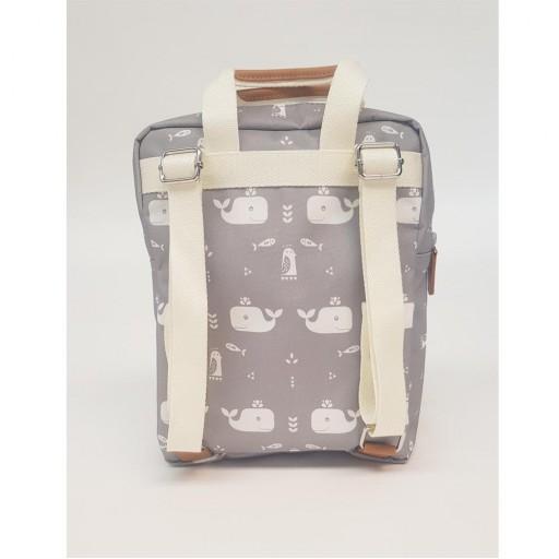 Mini mochila Fresk mod. Ballena gris [1]
