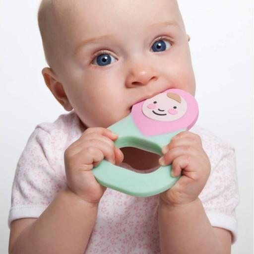 Mordedor Silicona Baby Rosa [1]
