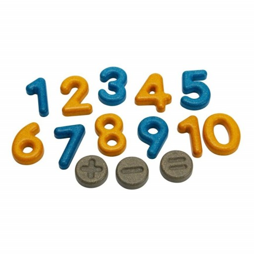 Números y símbolos Plantoys