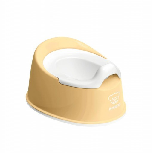 Orinal BabyBjörn mod. Smart color amarillo pastel-blanco
