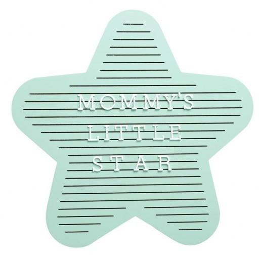 Panel de letras estrella Pearhead