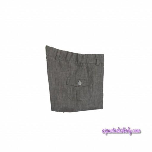 Pantalón Ancar Lino Verde Caza [0]