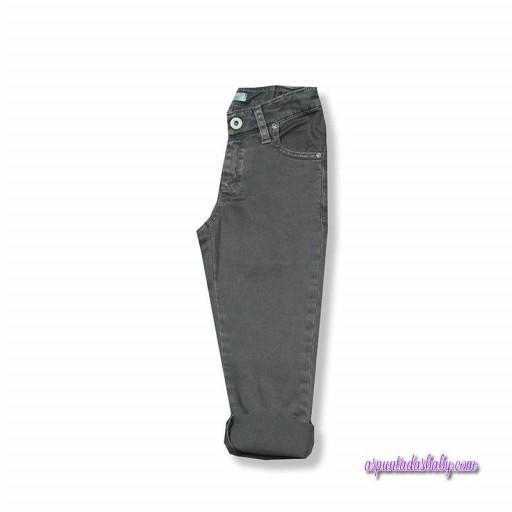 Pantalón básico foque color gris.  [0]