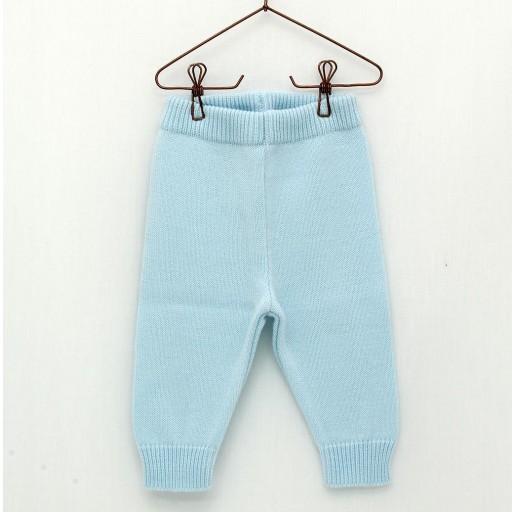Pantalón largo Foque sin pies color azul celeste. [0]