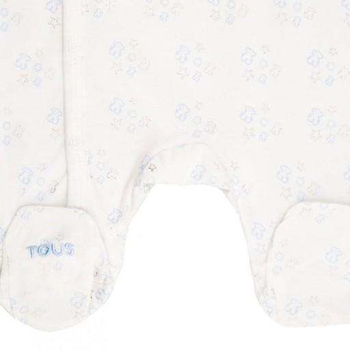 Pelele Baby Tous mod. Constel Azul Celeste [1]
