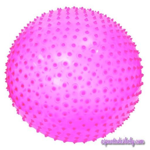 Pelota de motricidad rosa