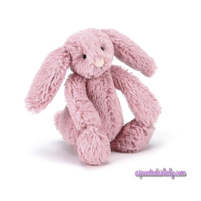 Peluche Jellycat mod. Bashful Pink Bunny 13 cms.