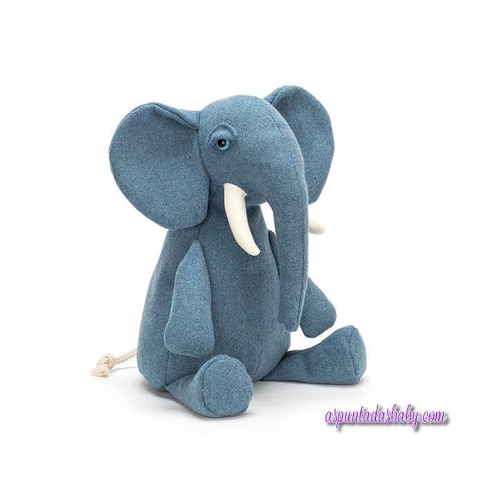 Peluche Jellycat mod. Elefante Pobblewob 36 cms.