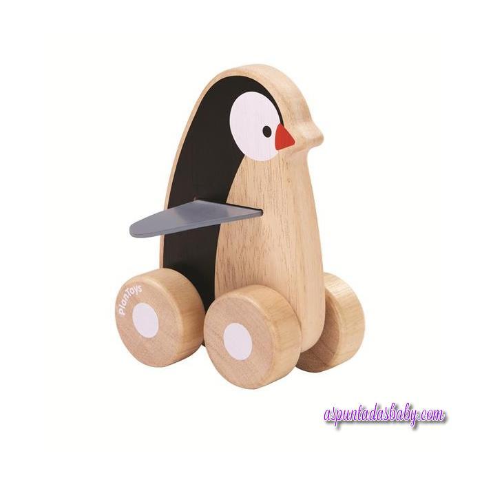 "Pingüino sobre ruedas ""Plantoys"""