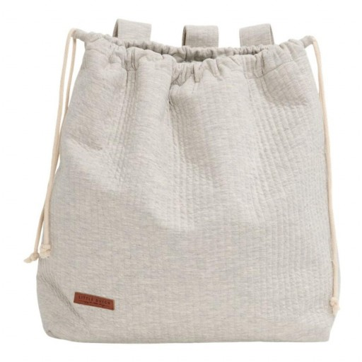 Bolsa Little Dutch color gris .
