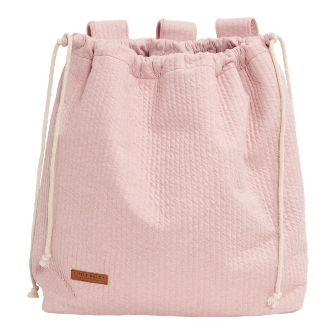 Bolsa Little Dutch color rosa .