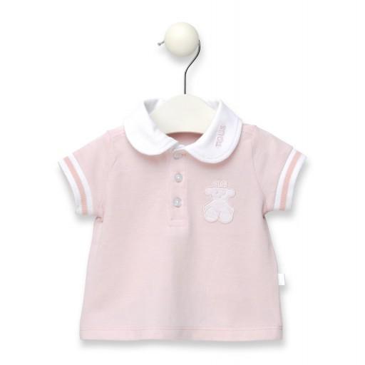 Polo De Niña Baby Tous Casual Rosa