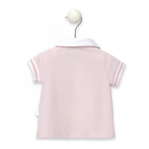 Polo De Niña Baby Tous Casual Rosa [2]