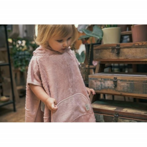 Poncho Timboo color rosa [1]