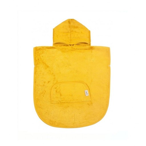 Poncho Timboo color ocher